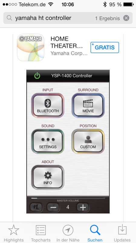Yamaha YAS-103 App 1