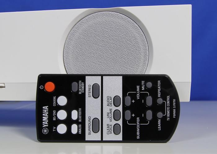 Yamaha YAS-103 Fernbedienung1
