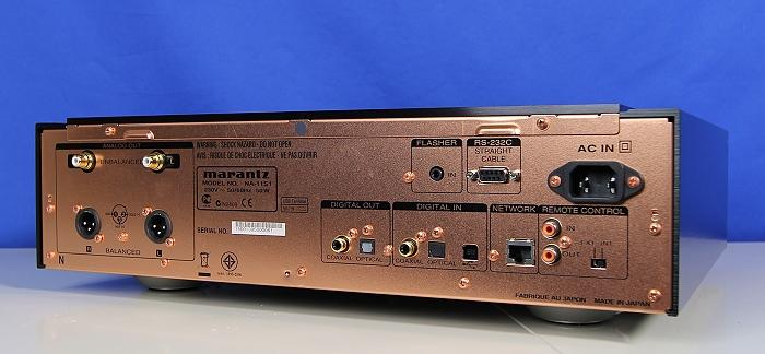 Marantz NA-11S1 Rueckseite Seitlich2