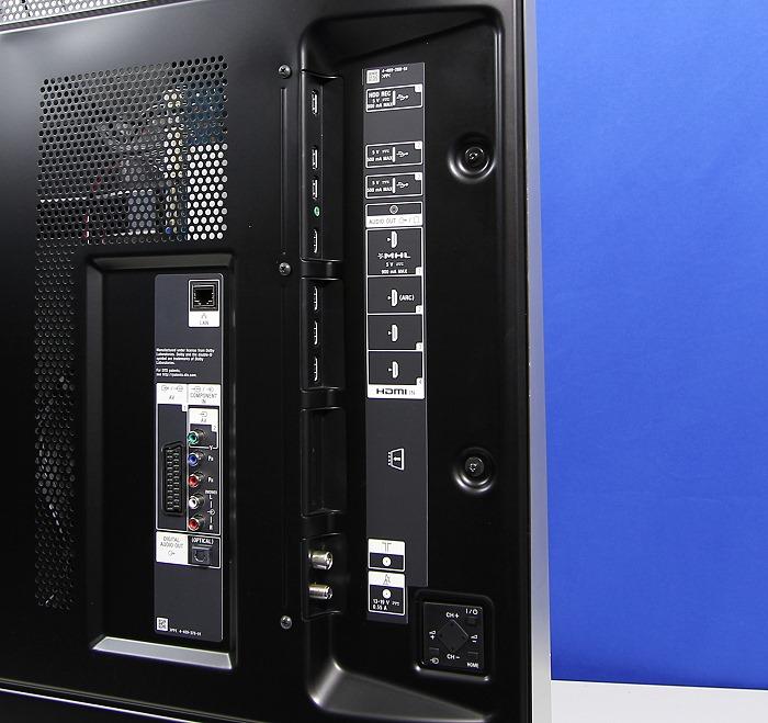 Sony KDL55W955 Anschluesse Rueckseite3