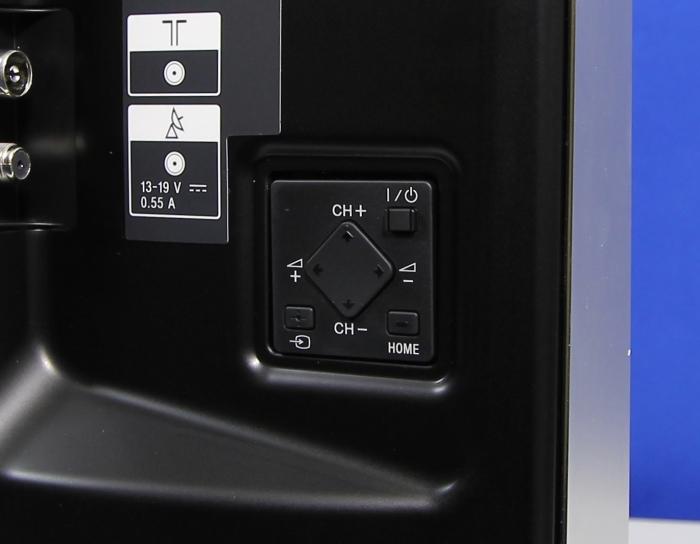 Sony KDL55W955 Bedienelemente Rueckseite