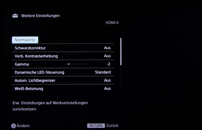 Sony KDL55W955 Screenshot10