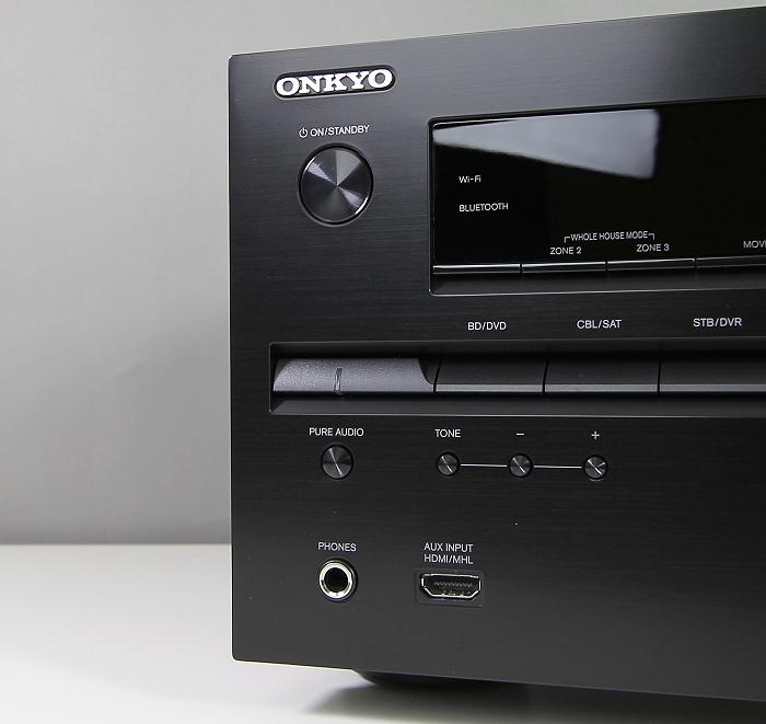 Onkyo TX-NR737 Bedienelemente Front1