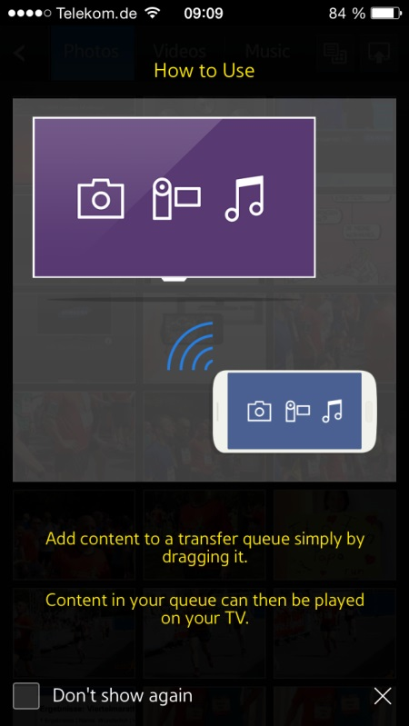 Samsung UE65H8090 App 6
