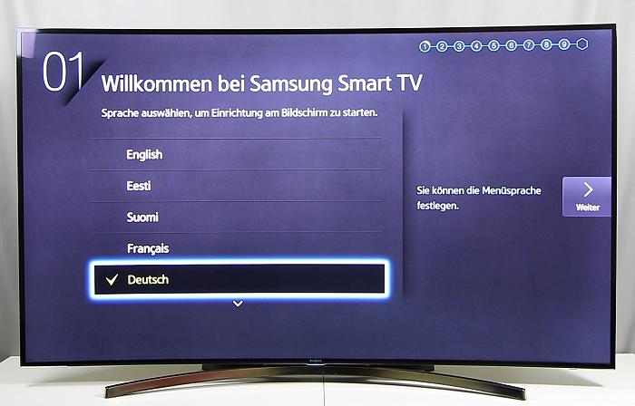 Samsung UE65H8090 Front Seitlich1
