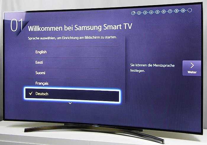 Samsung UE65H8090 Front Seitlich4