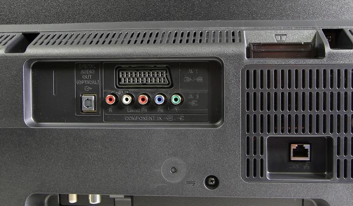 Sony KDL50W805 Anschluesse Rueckseite1