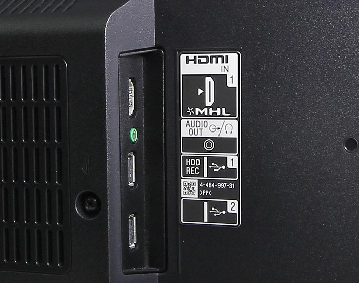 Sony KDL50W805 Anschluesse Rueckseite2