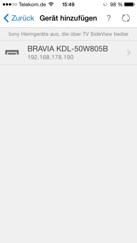 Sony KDL50W805 App4