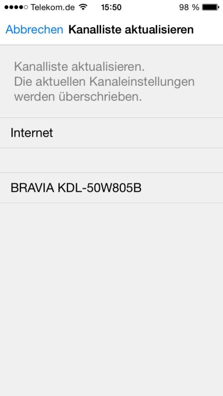Sony KDL50W805 App8