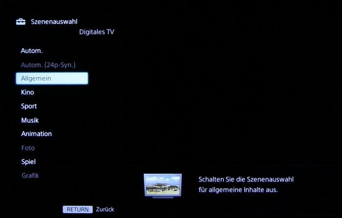 Sony KDL50W805 Screenshot 27