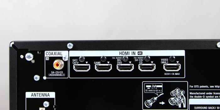 Sony STR-DN850 Anschluesse Rueckseite4