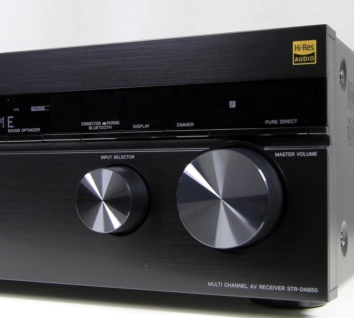 Sony STR-DN850 Bedienelemente Front2