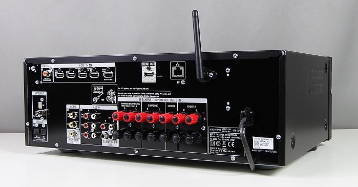 Sony STR-DN850 Rueckseite Seitlich3