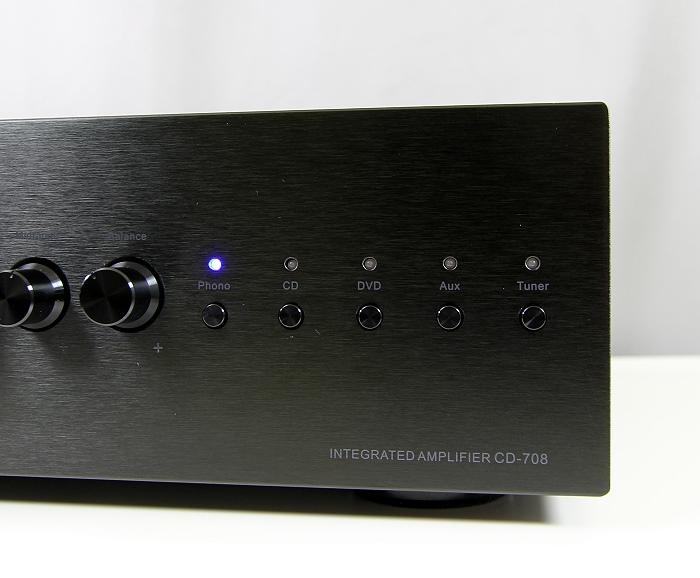 Auna CD-708 Bedienelemente Front3