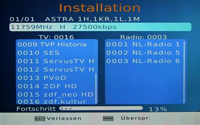 LogiSat HD55 HDMI Screenshot 3