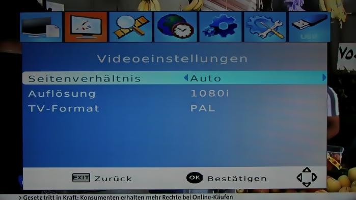 LogiSat HD55 HDMI Screenshot 7