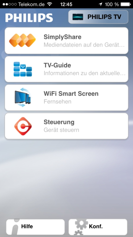 Philips My Remote App 2