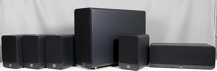 Q Acoustics 2000i Cinema Pack Gruppenbild2