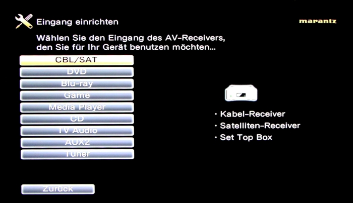 Marantz SR5009 Screenshot 14