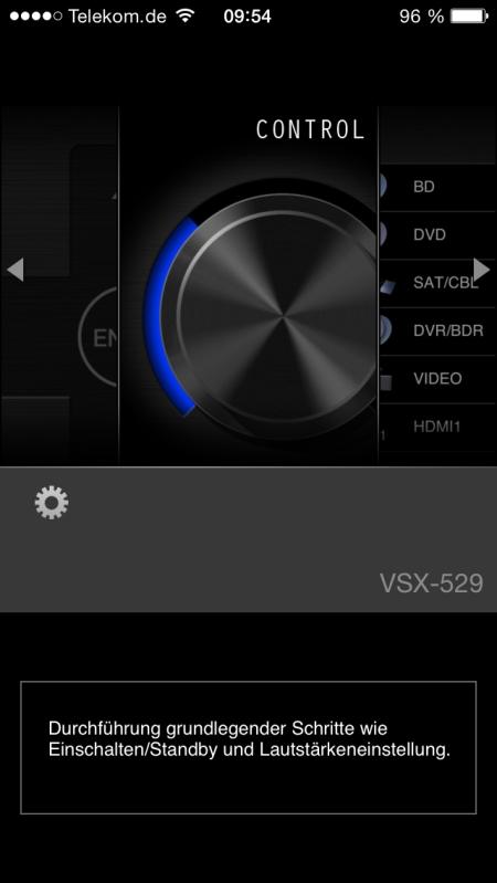 Pioneer VSX-529 App 3