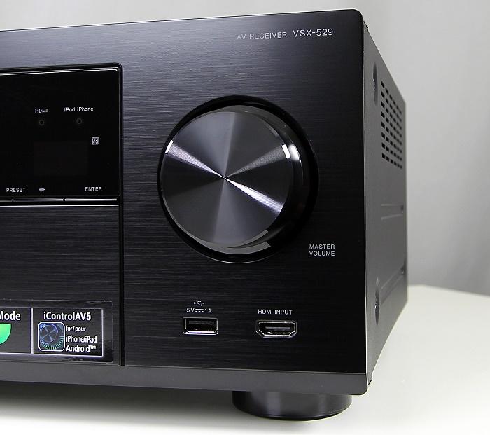 Pioneer VSX-529 Bedienelemente Front1