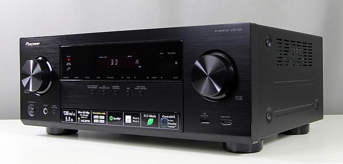 Pioneer VSX-529 Front Seitlich2
