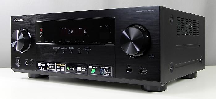Pioneer VSX-529 Front Seitlich5