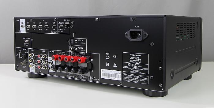 Pioneer VSX-529 Rueckseite Seitlich1