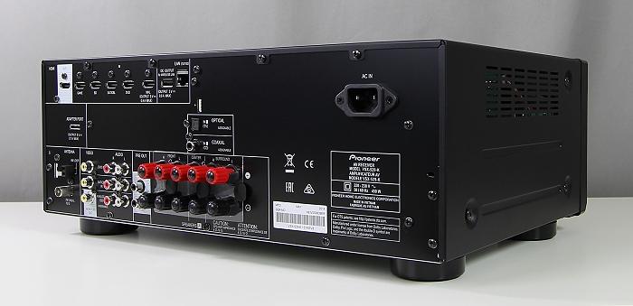 Pioneer VSX-529 Rueckseite Seitlich2