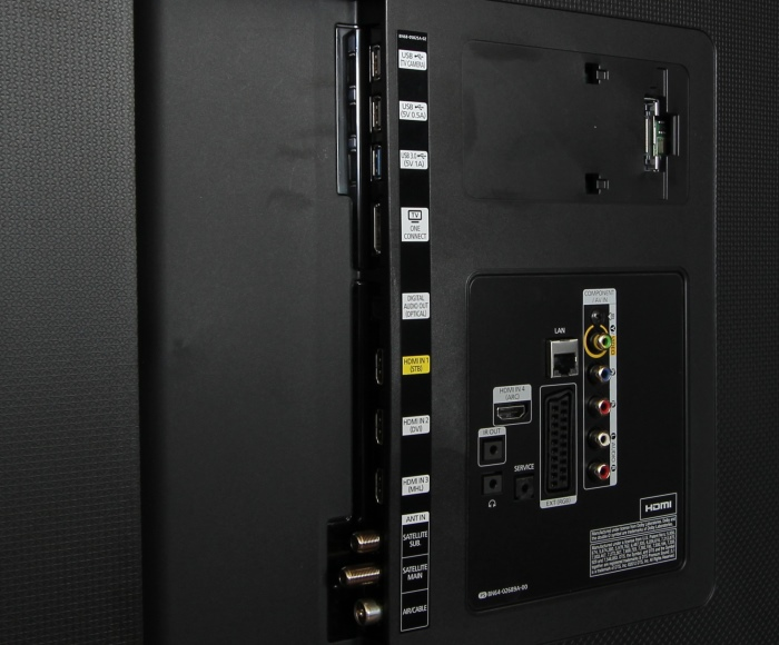 Samsung UE65HU7590 Anschluesse Rueckseite1