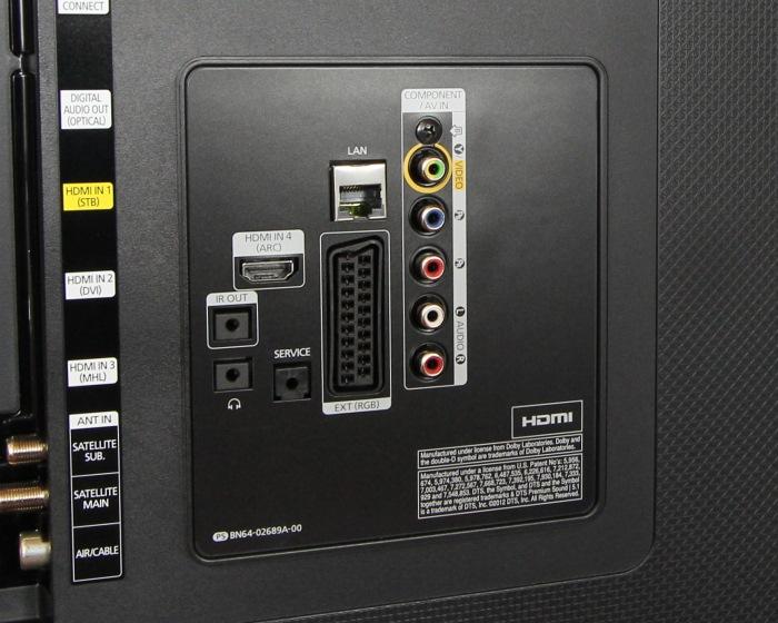 Samsung UE65HU7590 Anschluesse Rueckseite2