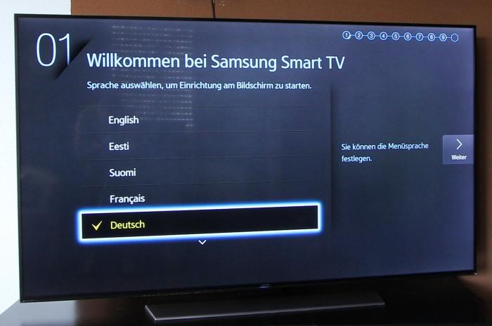 Samsung UE65HU7590 Front Seitlich1