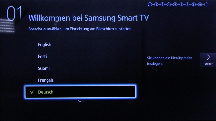 Samsung UE65HU7590 Screenshot 1