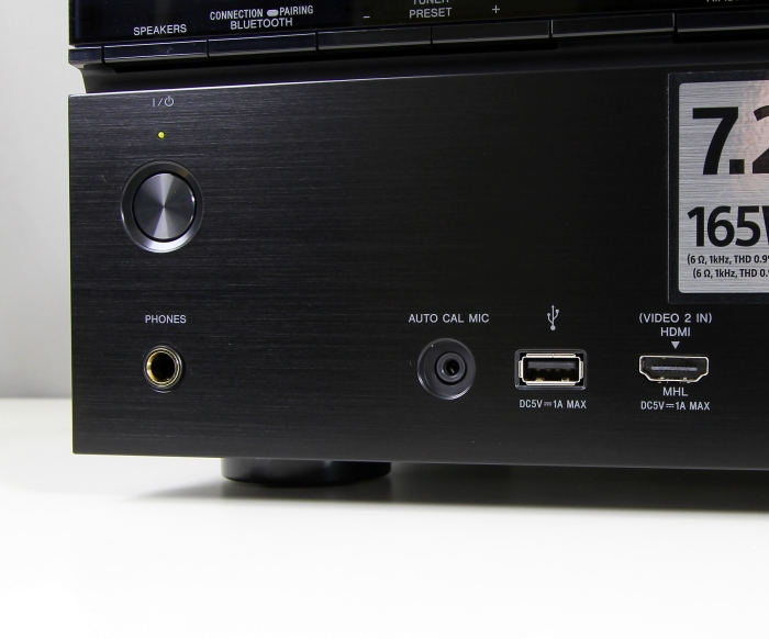 Sony STR-DN1050 Anschluesse Front