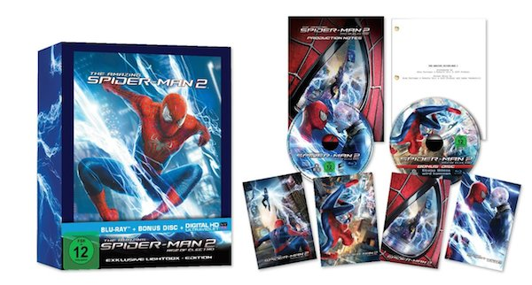 The Amazing Spiderman 2 Lightbox Edition