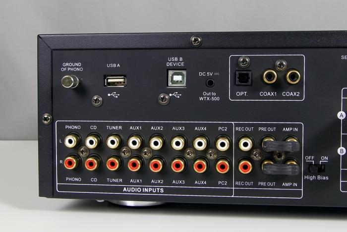 Advance Acoustics X-i90 Anschluesse Rueckseite2