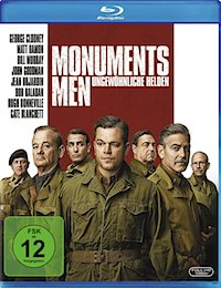 Monuments Men Blu-ray Disc
