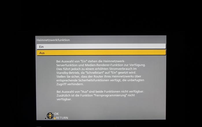 Panasonic DMR-BST845 Screenshot 12