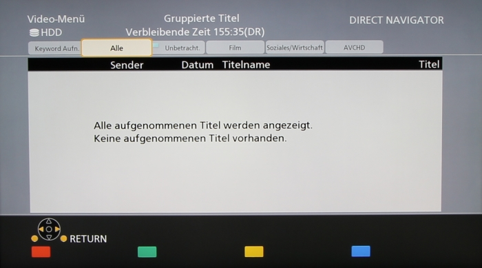 Panasonic DMR-BST845 Screenshot 16