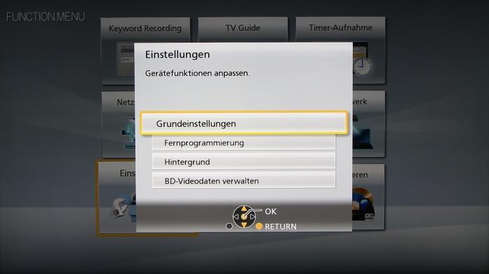 Panasonic DMR-BST845 Screenshot 26