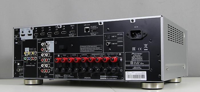 Pioneer VSX-924 Rueckseite Seitlich3