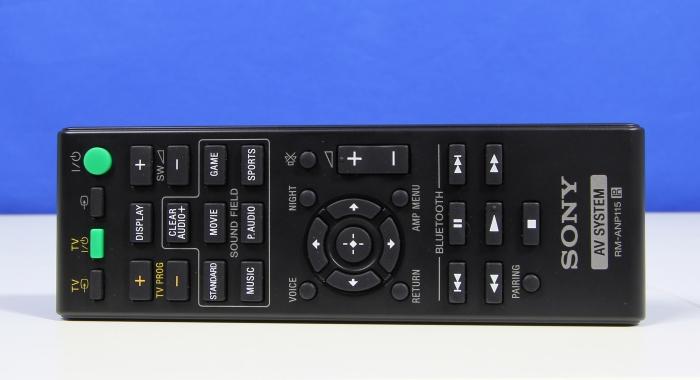 Sony HT-CT770 Fernbedienung