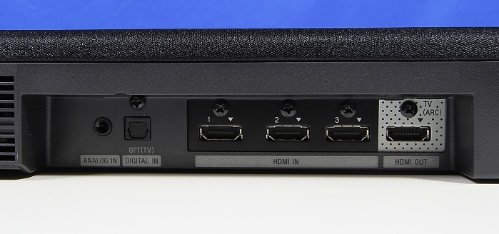 Sony HT-CT770 Soundbar Anschluesse Rueckseite