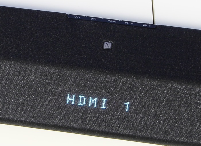 Sony HT-CT770 Soundbar Display