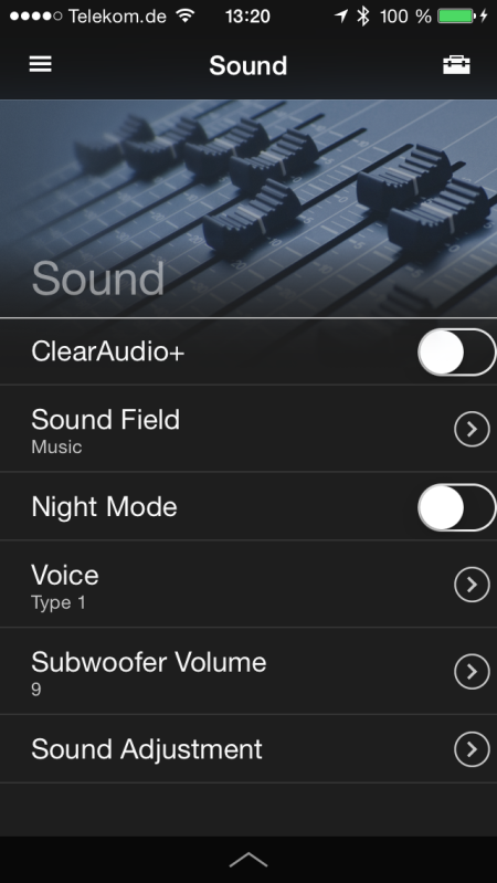 Sony HT-CT770_App_Sound_menu