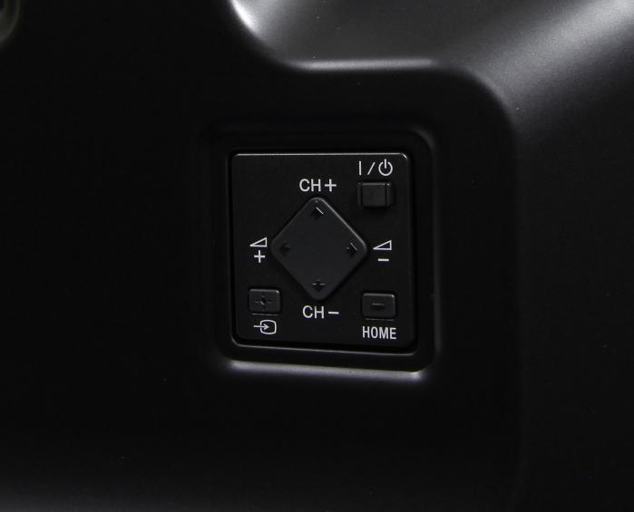 Sony KD55X8505 Bedienelemente Rueckseite