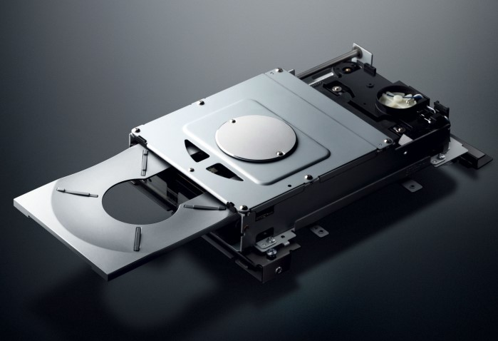 Yamaha_CD_S2100_CD_Laufwerk