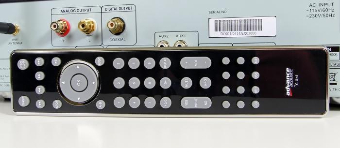 Advance Acoustics X-Uni Fernbedienung
