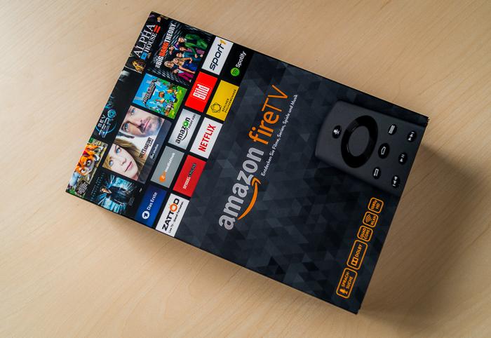 Amazon Fire TV Verpackung
